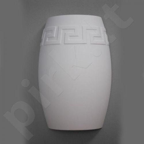 Sieninis šviestuvas gipsinis 10-BARYŁKA GRECKA