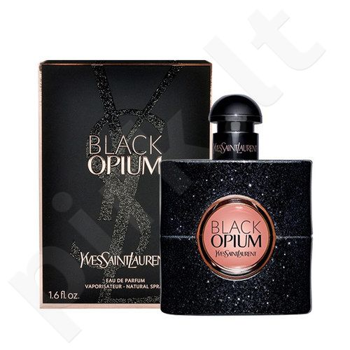Yves Saint Laurent Black Opium, EDP moterims, 30ml