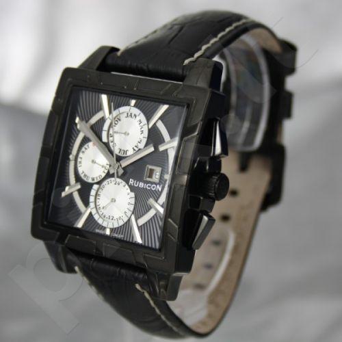 Vyriškas laikrodis RUBICON RNCC24 MB BK BK