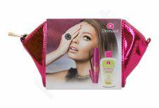Dermacol Sensitive, rinkinys akių makiažo valiklis moterims, (akių makiažo valiklis 150 ml + blakstienų tušas Mega Lashes 12,5 ml + kosmetika krepšys)