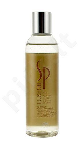 Wella SP Luxe Oil Keratin Protect šampūnas, kosmetika moterims, 200ml