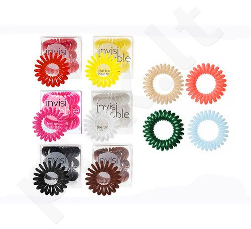 Invisibobble Hair Ring, kosmetika moterims, 3vnt, (Letter From Grey)