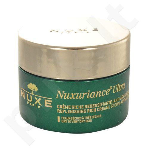 Nuxe Nuxuriance Ultra Replenishing prabangus kremas, kosmetika moterims, 50ml