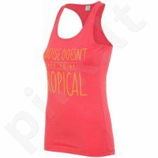 Marškinėliai 4f W T4L16-TSD005 rožinės spalvos