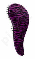 Detangler Detangling, plaukų šepetys moterims, 1pc, (Zebra Violet)