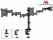 Maclean MC-691 Triple Desk Mount Monitor Arm 360 ° Adjustable laikiklis 13-27 Inch