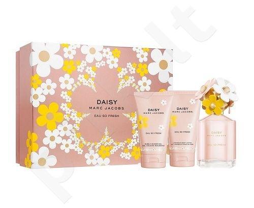 Marc Jacobs (Edt 75ml + 75ml Body lotion + 75ml Shower gel) Daisy Eau So Fresh, 75ml, tualetinis vanduo moterims
