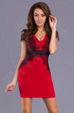 Emamoda suknelė - raudona 9303-3