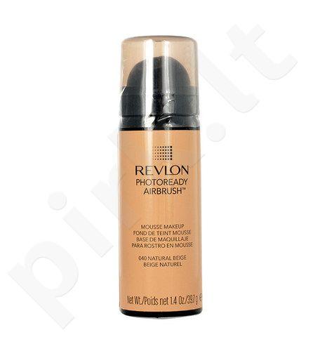 Revlon Photoready Airbrush kreminė pudra, kosmetika moterims, 39,7g, (030 Nude)