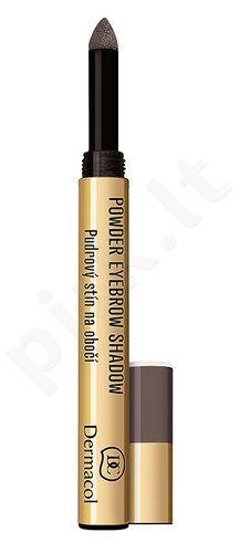 Dermacol pudra Eyebrow Shadow, kosmetika moterims, 1g, (3)