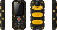Telefonas Getnord WALRUS juodas/geltonas