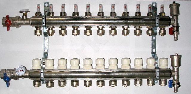 Kolektorius reguliuojamas 73003 16x1/2x6
