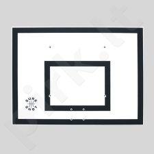 Plastikinė krepšinio lenta Sure Shot, 120 x 90 cm, juoda