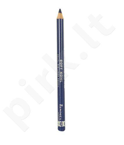 Rimmel London Soft Kohl Kajal akių kontūrų priemonė Pencil, kosmetika moterims, 1,2g, (061 Jet Black)