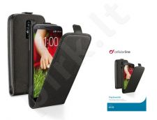 LG G2 dėklas FLAP ESSEN Cellular juodas