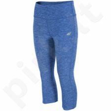 Sportinės kelnės 4f 3/4 W H4L17-SPDF001 mėlynas