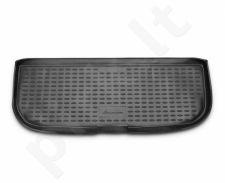 Guminis bagažinės kilimėlis FORD Grand C-MAX 2011-> (7 seats) black /N14027