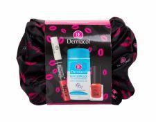 Dermacol 16H Lip Colour, rinkinys lūpdažis moterims, (Longlasting Lip Color 3 ml + akių makiažo valiklis 120 ml + nagų lakas 5 Day Stay 21 12 ml + kosmetika krepšys 1 pc), (03)