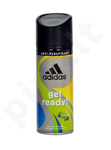 Adidas Get Ready!, antiperspirantas vyrams, 150ml