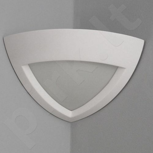 Sieninis šviestuvas gipsinis 10-ELMARCO (kampinis)