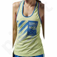 Marškinėliai treniruotėms Reebok Workout Ready Graphic W AJ3429