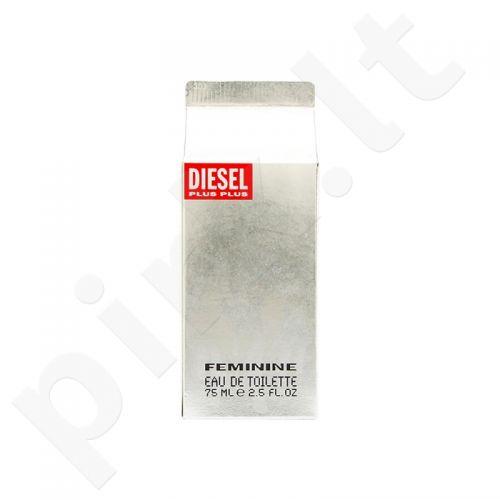 Diesel Plus Plus Feminine, tualetinis vanduo (EDT) moterims, 75 ml