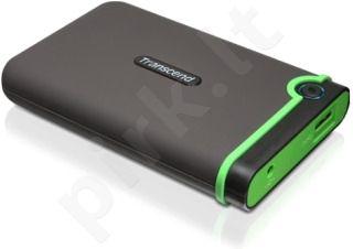 Išorinis diskas Transcend 25M3 2.5'' 1TB USB3, JAV karinis standartas