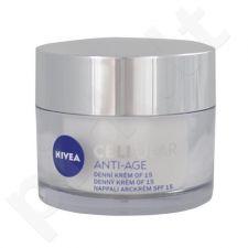 Nivea CELLular Anti-Age dieninis kremas SPF15, kosmetika moterims, 50ml
