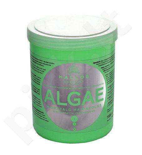 Kallos Algae Moisturizing plaukų kaukė, kosmetika moterims, 1000ml