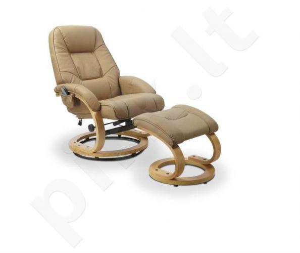 Fotelis MATADOR su masažo ir šildymo funkcija