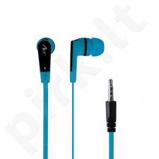 ART earbuds headphones with microphone S2E blue smartphone/MP3/tablet