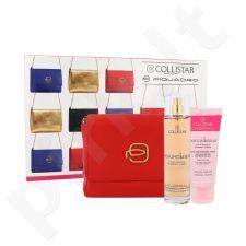 Collistar Benessere Dei Sensi kūno priežiūros rinkinys moterims, (kūno purškiklis 100 ml + dušo želė 50 ml + kosmetikos krepšys)