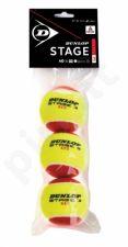 Lauko teniso kamuoliukai STAGE 3 3-polybag