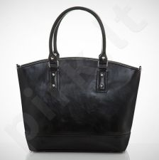 Felice Carino M05 - eko odos   juoda elegantiška rankinė, moterims