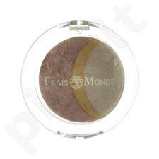Frais Monde Thermal Mineralize Baked Trio akių šešėliai, kosmetika moterims, 2,2g, (10)