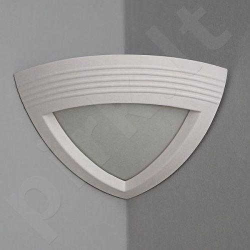 Sieninis šviestuvas gipsinis 10-ELMARCO PRĄŻKI (kampinis)