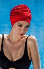 Kepuraitė plaukimui Fabric Swim PE 3403 40 red