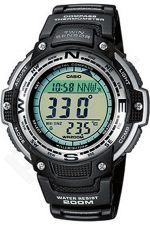 Laikrodis CASIO SGW-100-1V Illuminator. Digital Compass. World time 29 zones 5 daily s Snooze Hourly Time Full auto-calendar WR 200mt **ORIGINAL BOX**