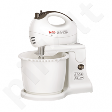 TEFAL HT412138 Hand Mixer, Capacity 2,5L, 5 speed levels, Power 450W, White