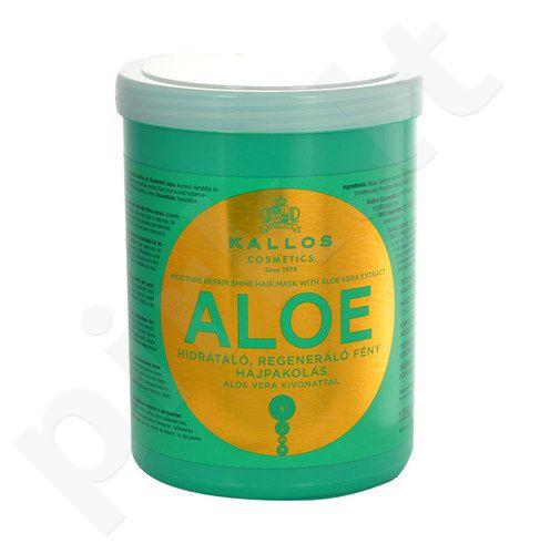 Kallos Aloe Vera Moisture Repair Shine plaukų kaukė, kosmetika moterims, 1000ml