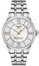 Laikrodis TISSOT CHEMIN DE TOURELLES POWERMATIC 80 moteriškas T0992071111800