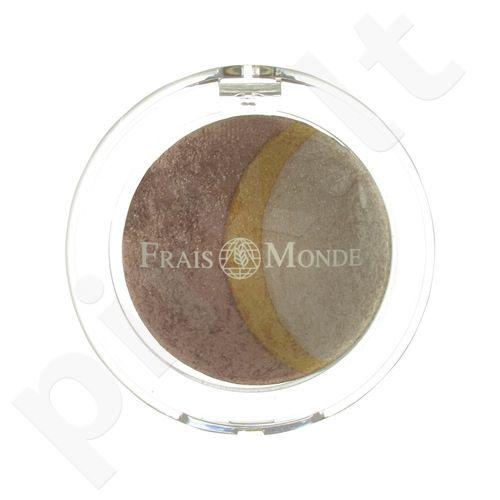 Frais Monde Thermal Mineralize Baked Trio akių šešėliai, kosmetika moterims, 2,2g, (12)