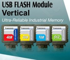 Transcend 2GB USB Flash Module (Vertical)