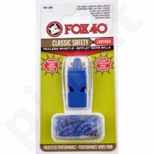 Švilpukas FOX Classic + virvutė 9903-0508 mėlynas