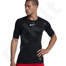 Marškinėliai termoaktyvūs Nike Pro Compression SS M 838091-010