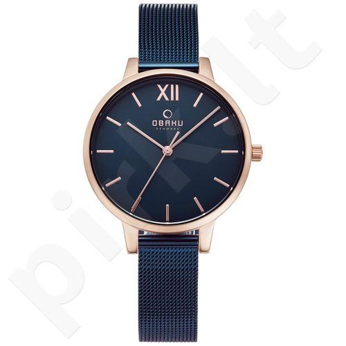 Moteriškas laikrodis Obaku V209LXVLML