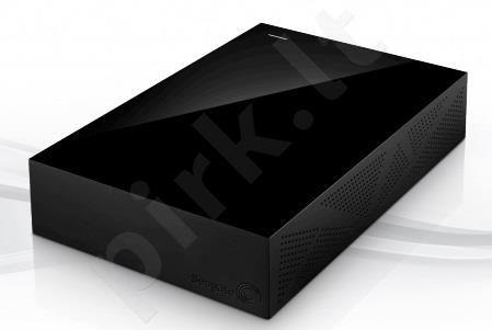 Išorinis diskas Seagate Backup Plus 3.5', 4TB, USB3, Juodas