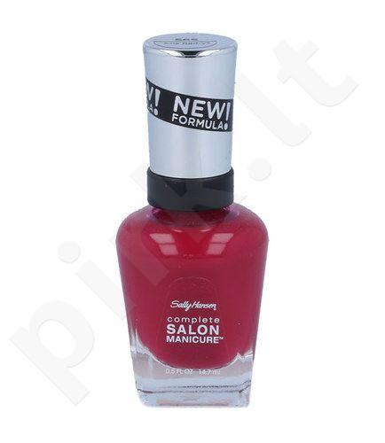 Sally Hansen Complete Salon Manicure, nagų lakas,  kosmetika moterims, 14,7ml, (565 Aria Red-y?)