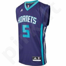 Marškinėliai krepšiniui Adidas Replica Charlotte Hornets Nicolas Batum M AM5037