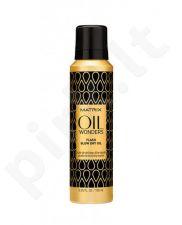 Matrix Oil Wonders Flash Blow Dry Oil, kosmetika moterims, 185ml